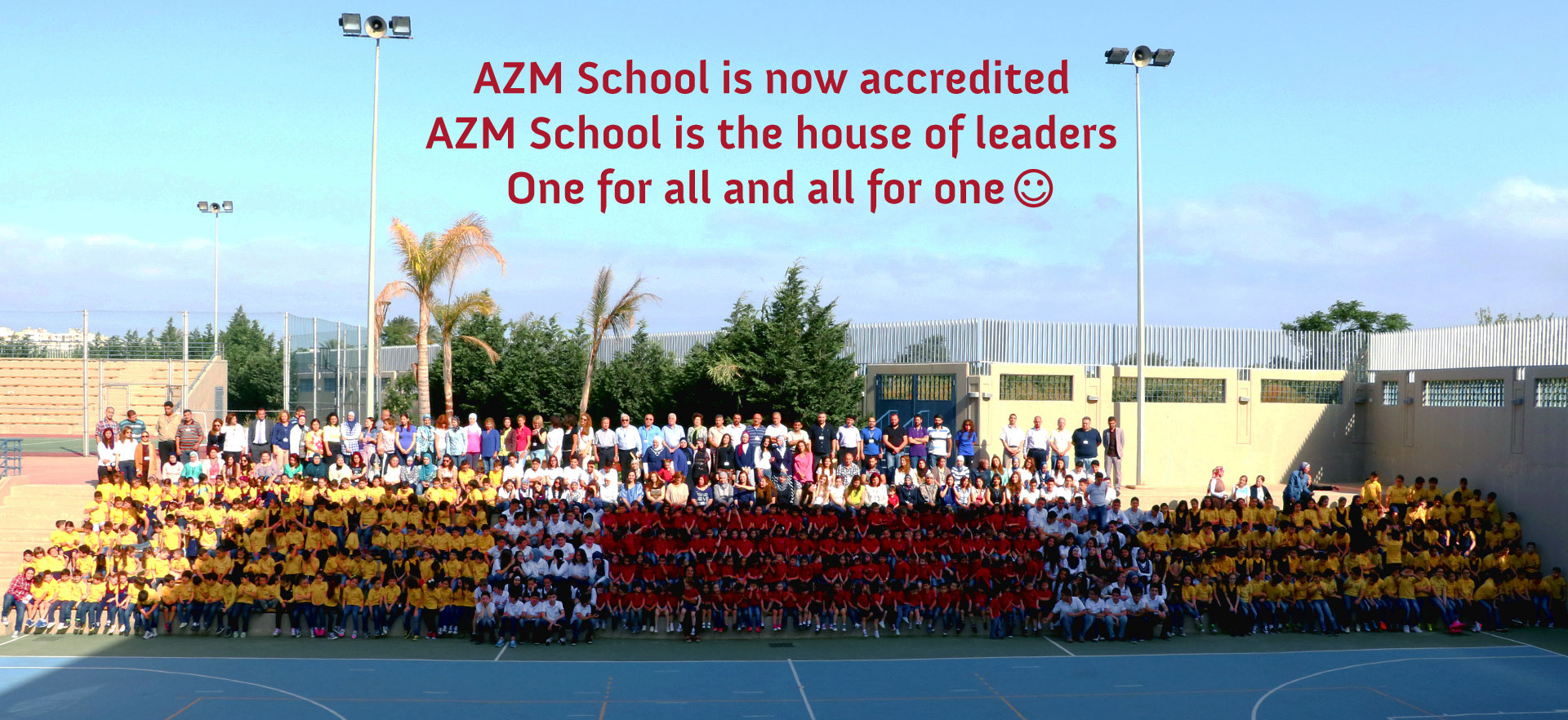 AZM School is now accredited by AdvancED